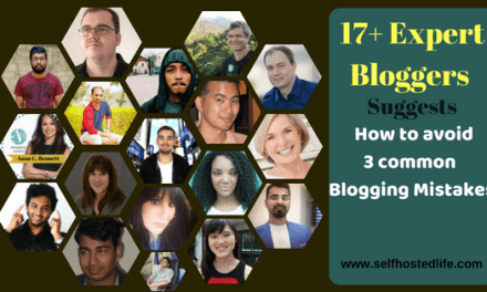 "17+ Expert Suggests ""3 Blogging Mistakes Blogger Always Make & How to Fix Them"""