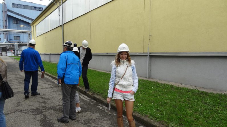 Excursion in heating plant