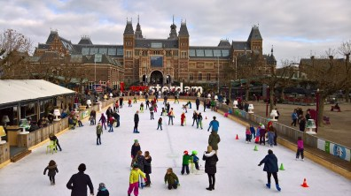 Ice area at the Museumplein