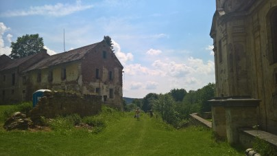 Rectory in the former village of Skoky