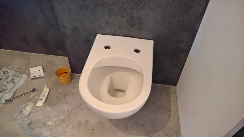 Montáž WC