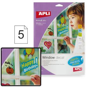 film plastico adhesivo para decorar ventanas