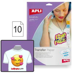 Imprimir camisetas - Papel transfer