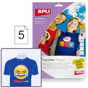 Papel transfer camisetas color