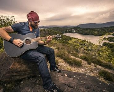 Guitarist Outdoors