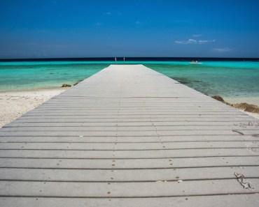 Exotic Pier into Ocean