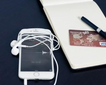 Phone, Paper, Credit Card