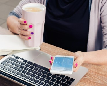 Woman Working Distracted