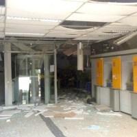 Bandidos explodem duas agências no oeste da BA e conseguem levar dinheiro de um dos estabelecimentos