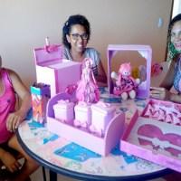 CRAS de São Desidério realiza oficinas de artesanato com gestantes