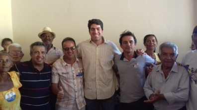 Na imagem: Rildo Ramos, Roberto Ramos, Otto Filho, Fernando Cotrim e Donato Ramos