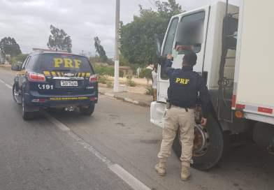 Em Seabra(BA), caminhoneiro é detido pela PRF com documento falso