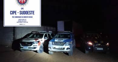 PM e PRF recuperam carga de pneus avaliada em R$ 680 mil