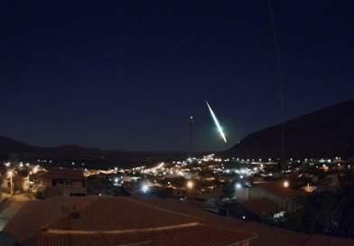 Cinco cidades da Chapada Diamantina registram passagem de meteoros