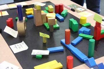 Utopisches Stadtmodell