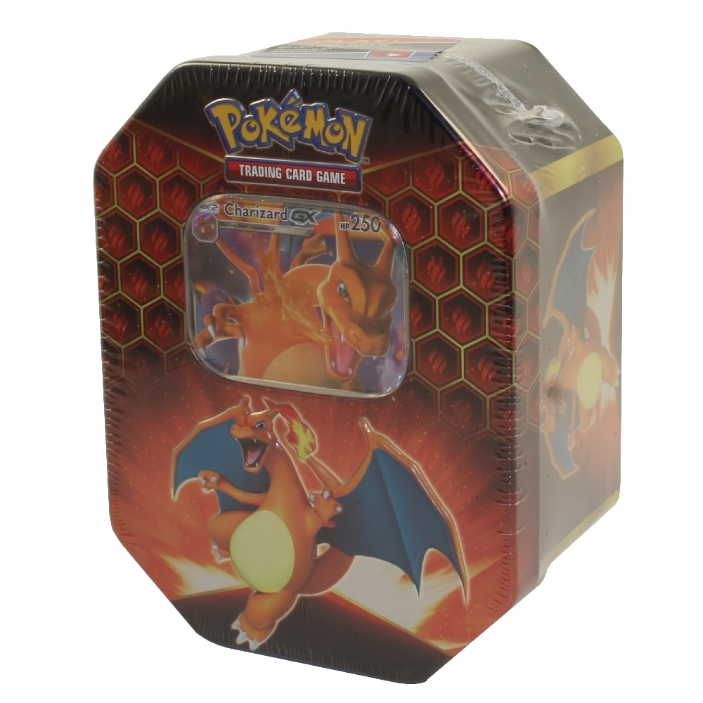 Fast shipping and friendly customer service. Pokemon 2019 Collectors Hidden Fates Tin - CHARIZARD GX (1 Foil & 4 Hidden Fates Booster Packs ...
