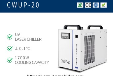 Portable water chiller CWUP-20 for ultrafast laser