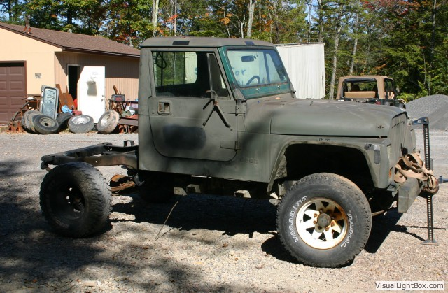 Used Jeeps And Jeep Parts For Sale Cj10a Military Tug