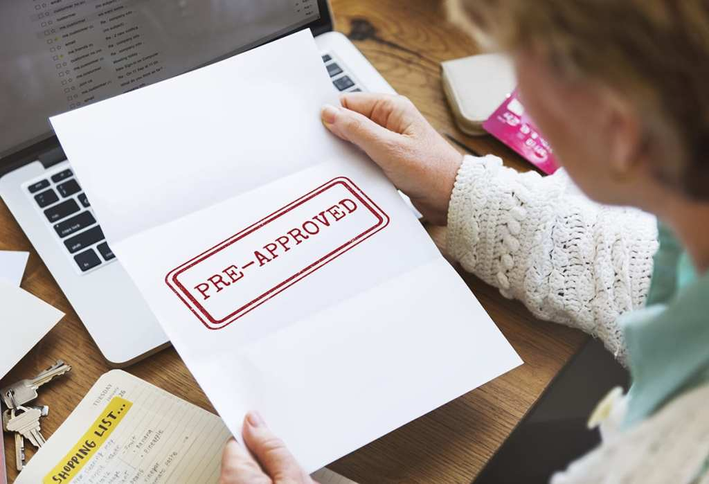 Pre-approval for a mortgage is different from pre-qualification.