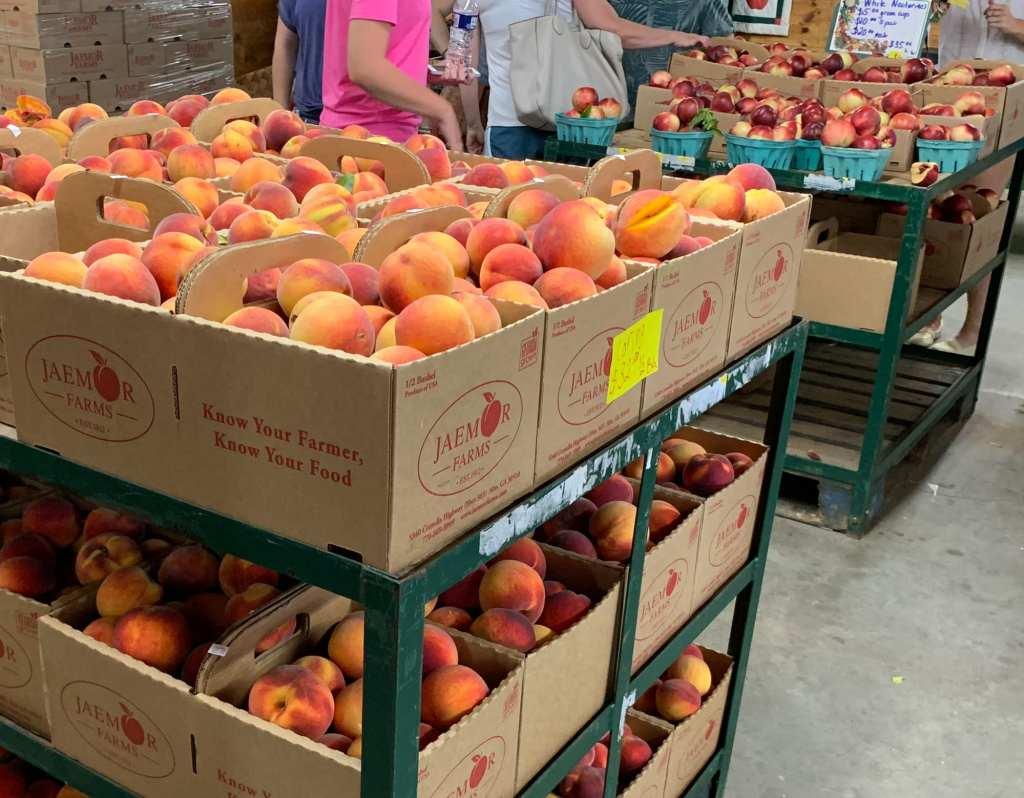 More Peaches for Sale