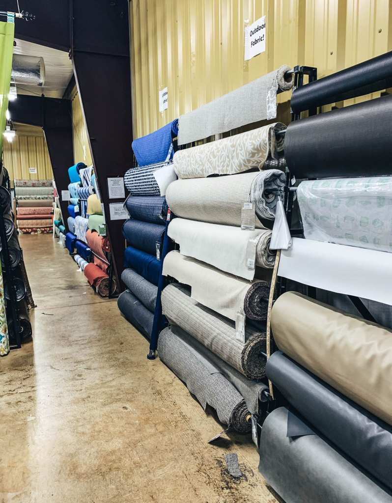 Where to buy upholstery fabric in Kennesaw