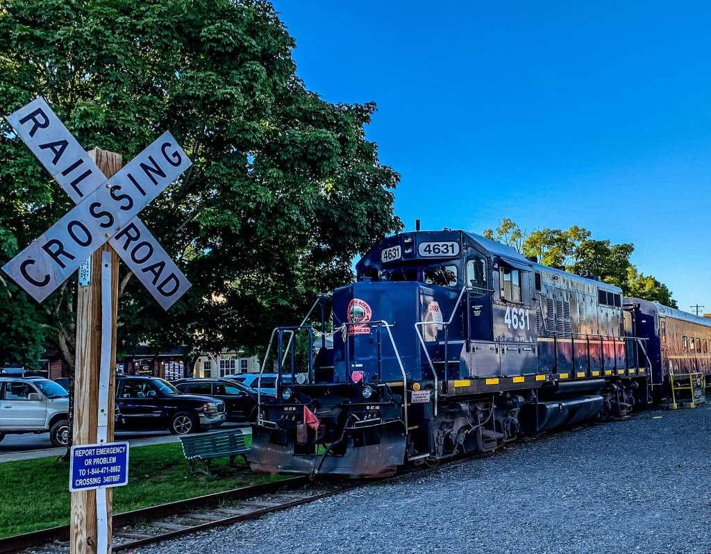 Blue Ridge Railroad Train