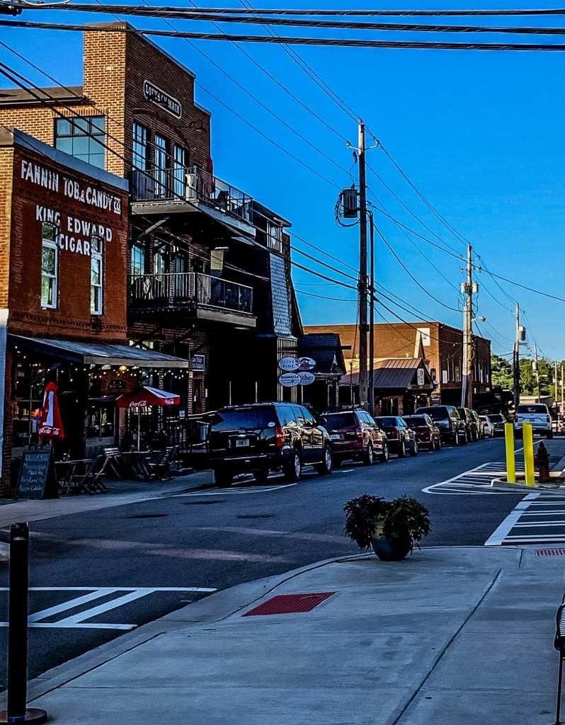 Blueridge Georgia Downtown