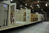 manufactured homes under construction