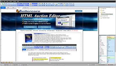 Free EBay Templates Amp Auction Listing HTML Generator Sellercore