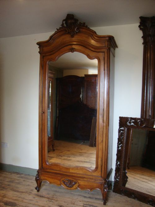 french louis xv style single door
