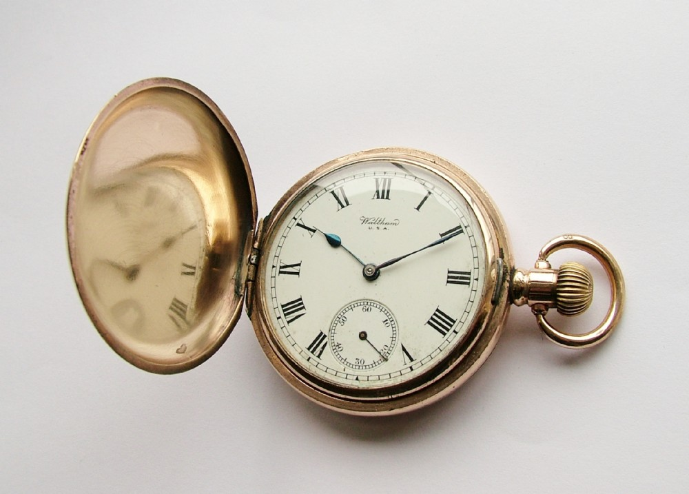 Vintage Waltham Gold Pocket Watch Porn Pics And Movies