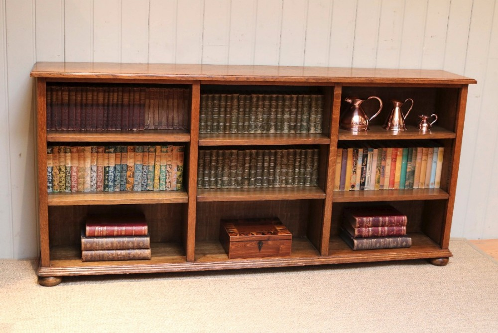 Bookshelves Low And Wide