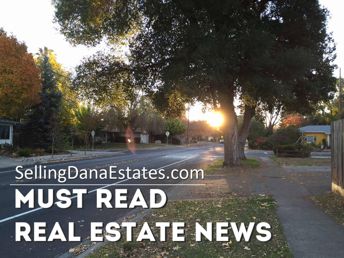SellingDanaEstates.com Must Read Real Estate News for November 2 2018