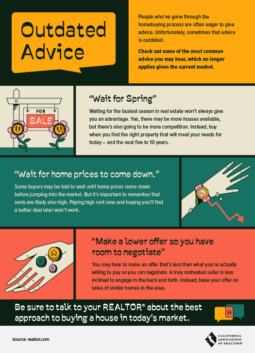 outdated homebuyer advice