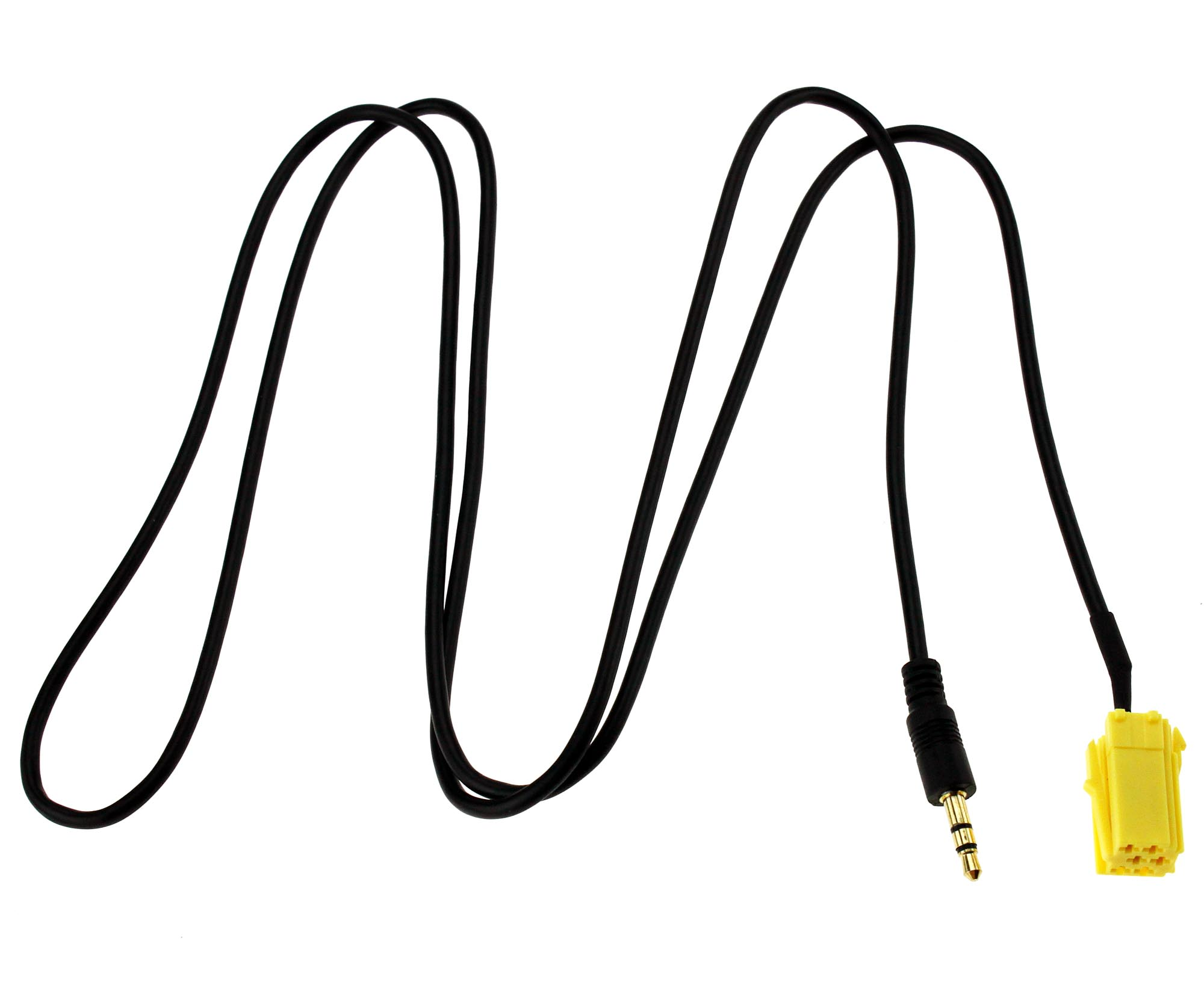 3 5mm Jack Aux In Gold Plated Input Adapter Cable For Fiat