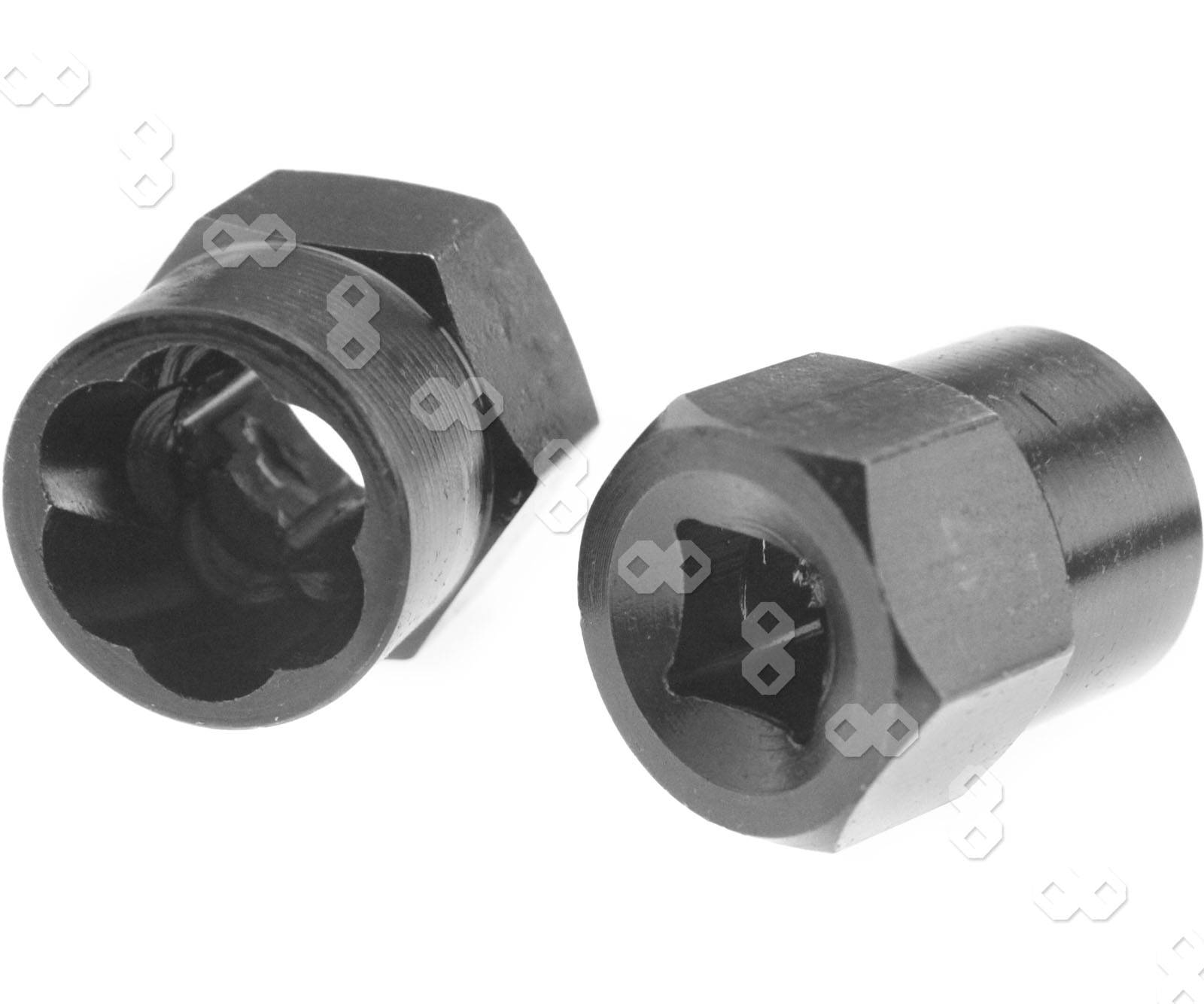 1 Sockets Hex X 2 2 1 1 Drive Head 2 Socket