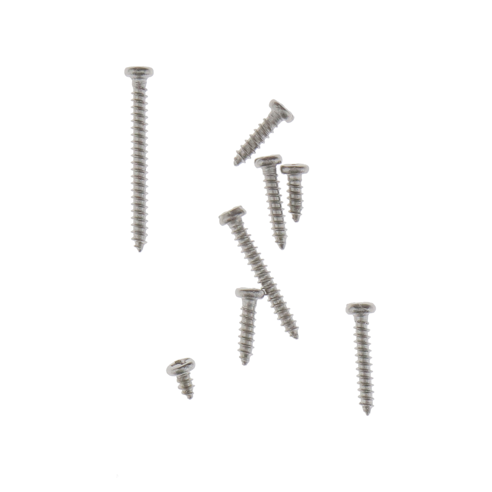 800pcs M2 Stainless Steel Self Tapping Screws Flat Head Home Fixing Tools