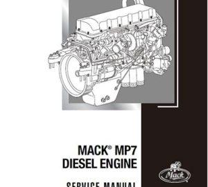 Mack MP7 Diesel Engine Service Manual