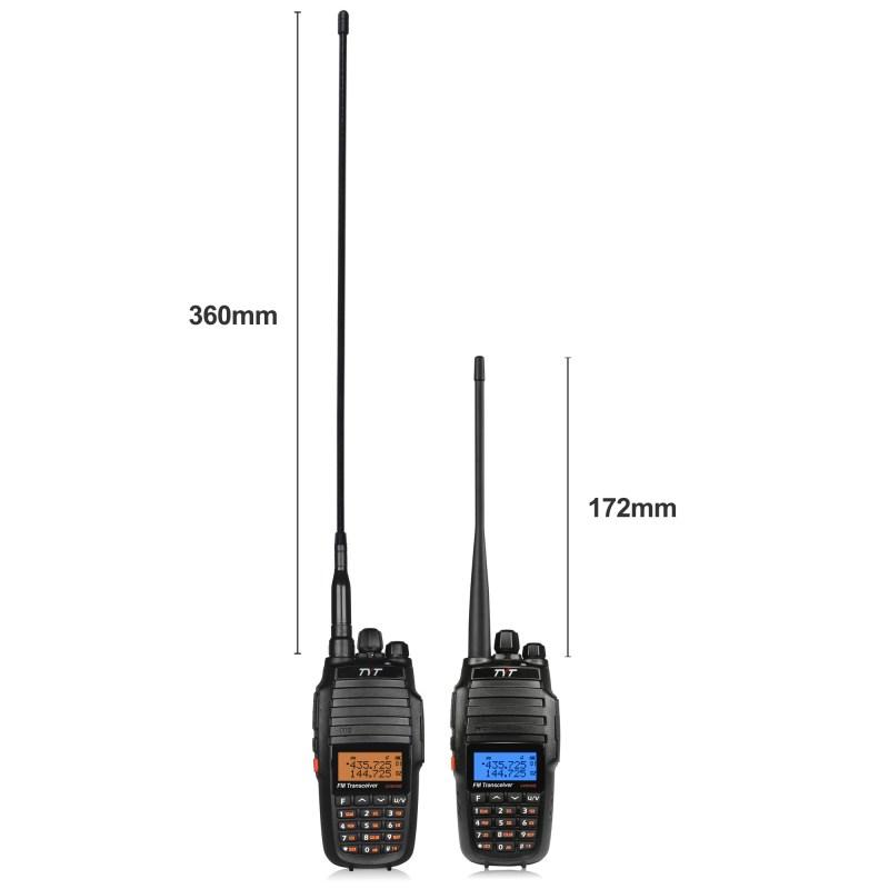 2 x TYT UV8000E Dual Band 3600mAh 10W HP Two-way Ham Radio Transceiver Repeater 3