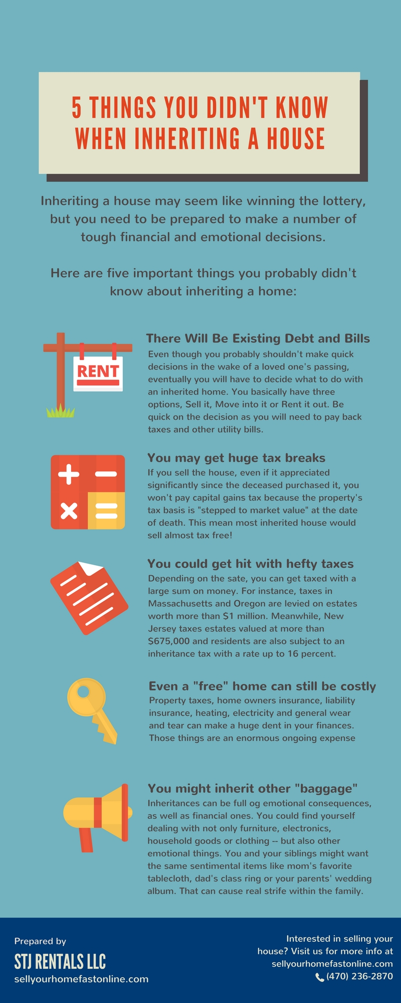 5 things you didnt know when inheriting a house