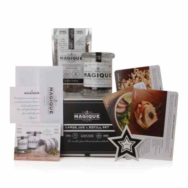 Sel Magique - Large Jar and Refill - Gourmet Salt Blend