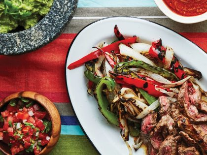Mezcal-Marinated Fajitas