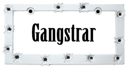gangster text bullethole frame