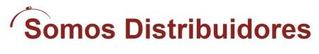 somos distribuidores