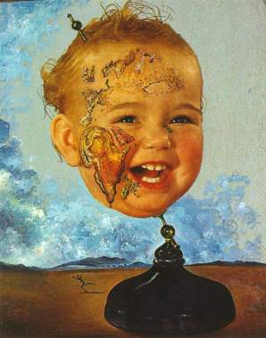 Salvador+Dali+-+Baby+Map+of+the+World+1939+