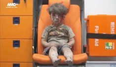 syrian small boy injured