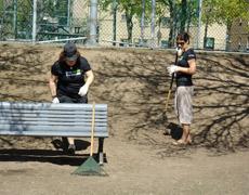 Activité de nettoyage à Sainte Marie