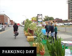 Parking Day à Sainte Marie