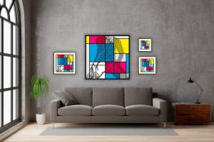 IN SITU EDITION PIET FEMALE ABSTRACTION 01