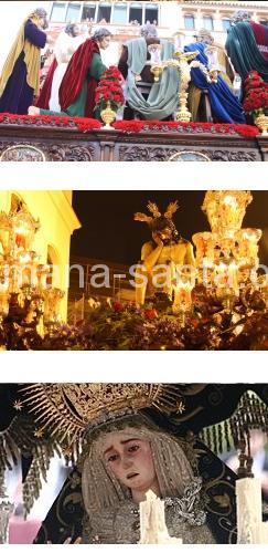 La Cena. Antigua, Real e Ilustre, Fervorosa Hermandad Sacramental y Cofradía de Nazarenos de la Sagrada Cena, Santísimo Cristo de la Humildad y Paciencia y Nuestra Señora del Subterráneo